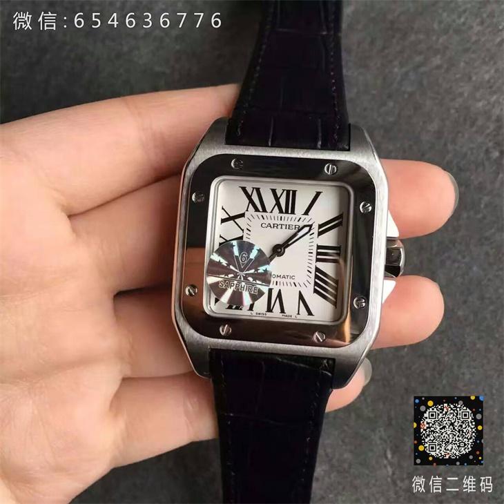 【V6厂超A】卡地亚山度士33毫米女士一比一复刻手表
