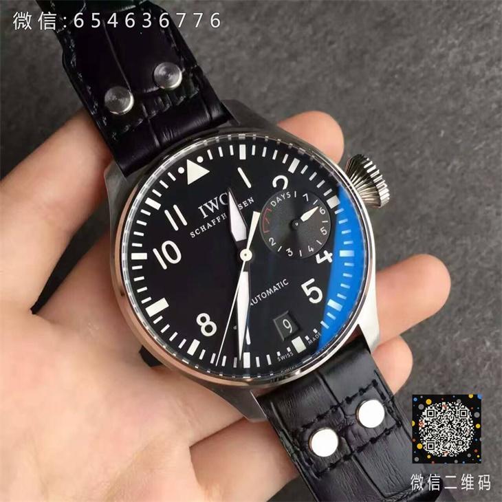【ZF厂顶级版本】万国(IWC)飞行员系列黑面IW500901男士一比一精仿手表