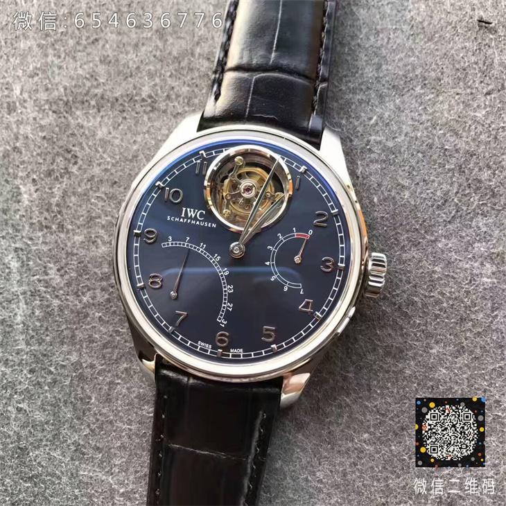 【YL厂一比一】万国(IWC)葡萄牙动能显示IW504601男士自动陀飞轮一比一精仿手表