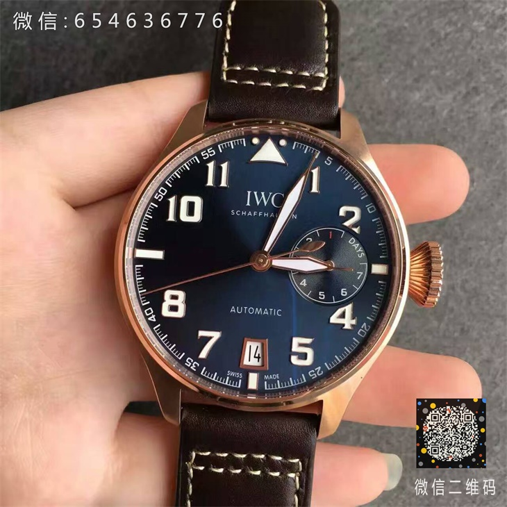 【ZF厂顶级版本】万国(IWC)飞行员系列大飞IW500909男士一比一精仿手表