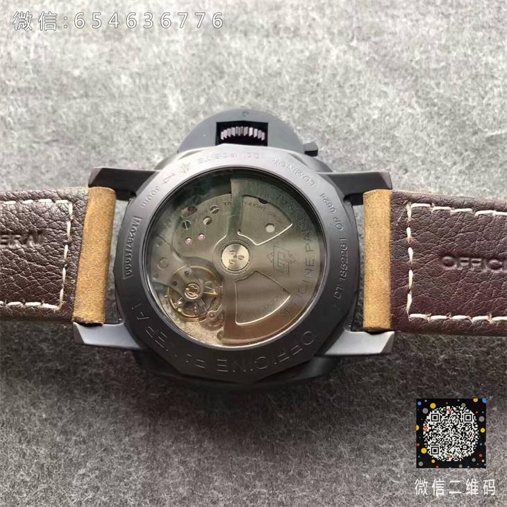 【VS厂超A】沛纳海(Panerai)PAM00386/PAM386男士自动机械一比一精仿手表
