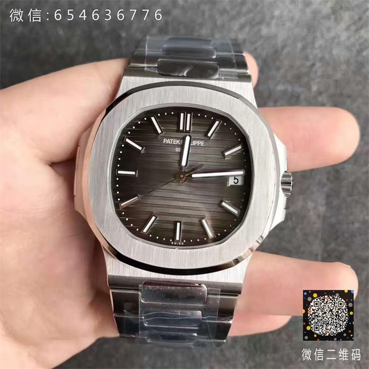 【MK厂超A】百达翡丽PP鹦鹉螺5711灰面男士一比一复刻手表