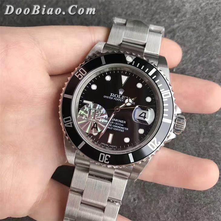 【JF厂超A】劳力士潜航者型第四代复古经典款黑水鬼男士一比一复刻手表
