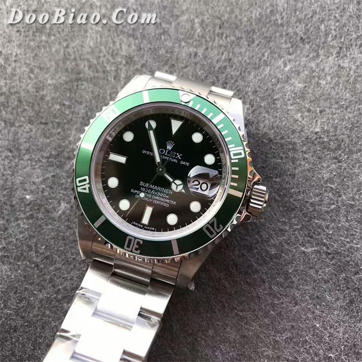 【JF厂超A】劳力士潜航者型第四代复古经典款绿水鬼男士一比一复刻手表