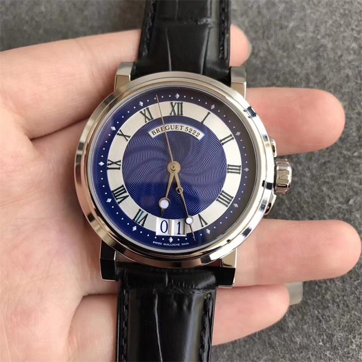 【HG厂超A】宝玑(Breguet)Marine航海系列5817ST/Y2/5V8蓝面一比一精仿手表