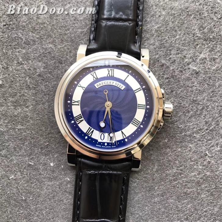 【HG厂超A】宝玑(Breguet)Marine航海系列蓝面一比一精仿手表