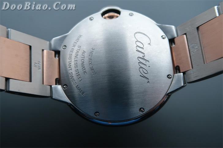 卡地亚蓝气球系列42毫米W69009Z3男士自动机械一比一高仿手表