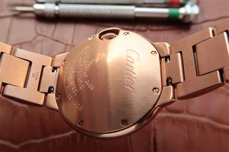 卡地亚蓝气球系列33毫米W6920097女士自动机械一比一高仿手表