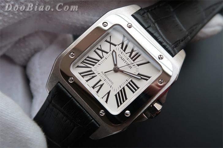卡地亚桑托斯(山度士)系列W20106X8女士一比一高仿手表