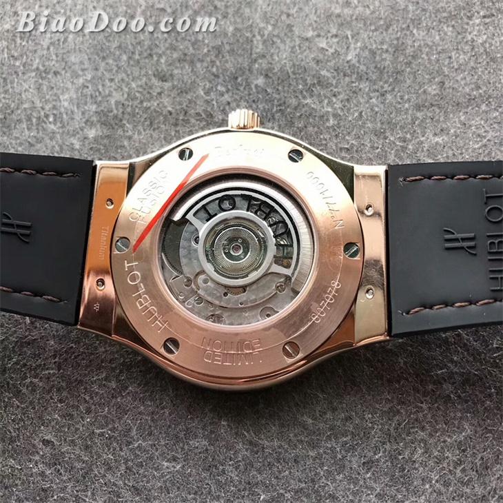 宇舶(Hublot)经典融合系列Berluti Scritto限量款一比一精仿手表