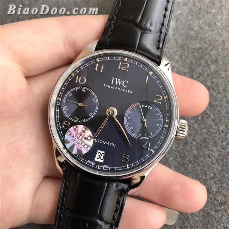 【YL厂超A】万国(IWC)葡七蓝面IW500710一比一精仿手表