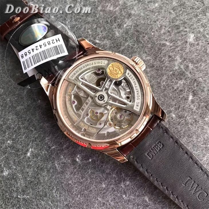 【YL厂超A】万国(IWC)系列金壳白面年历一比一复刻手表