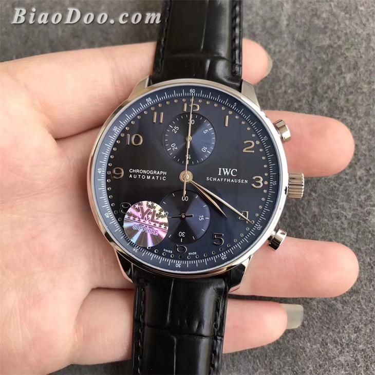 【YL厂超A】万国(IWC)葡计蓝面IW371491一比一精仿手表