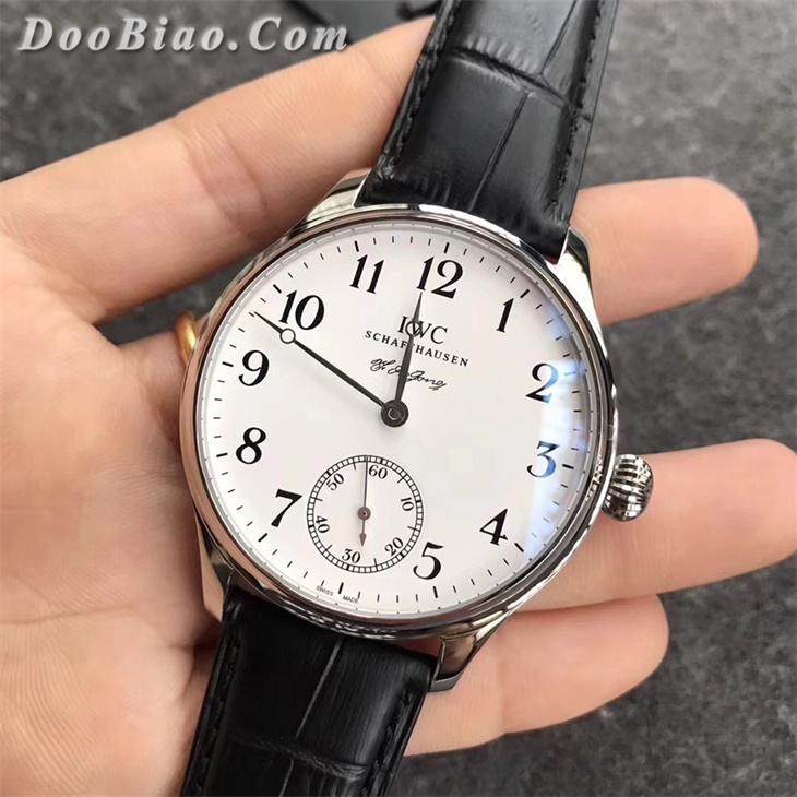 【GS厂】万国葡萄牙系列两针半罗伦汀·琼斯纪念款白盘精仿手表