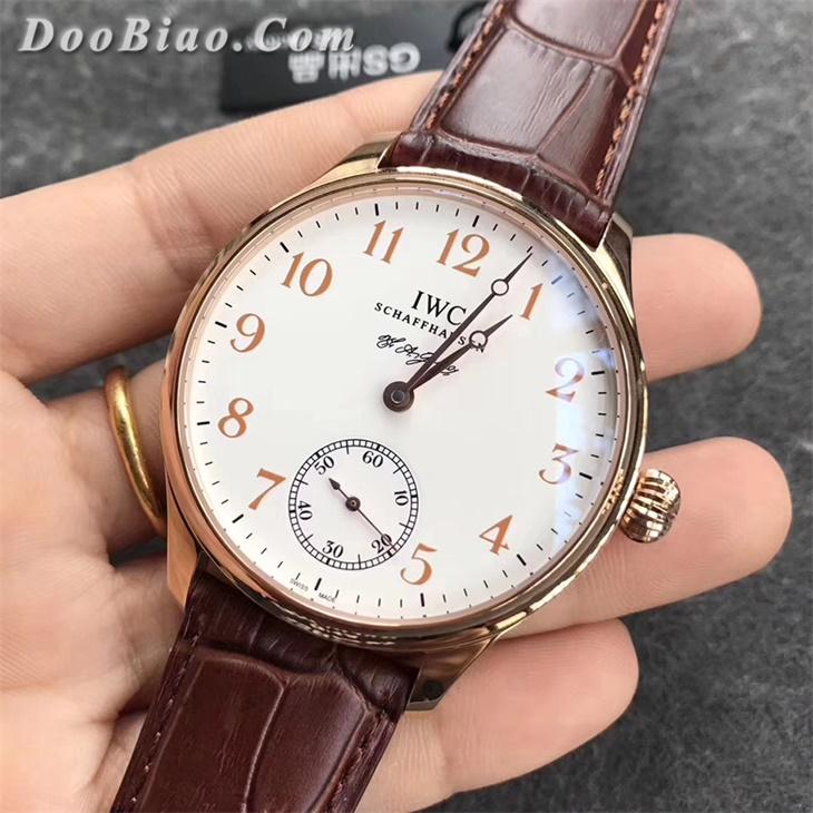 【GS厂】万国葡萄牙系列两针半罗伦汀·琼斯纪念款金壳精仿手表