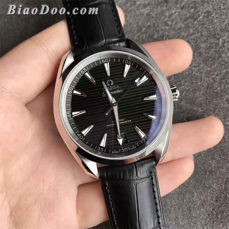 【XF厂】欧米茄海马AQUA TERRA 150M横纹黑面男士自动机械一比一复刻手表