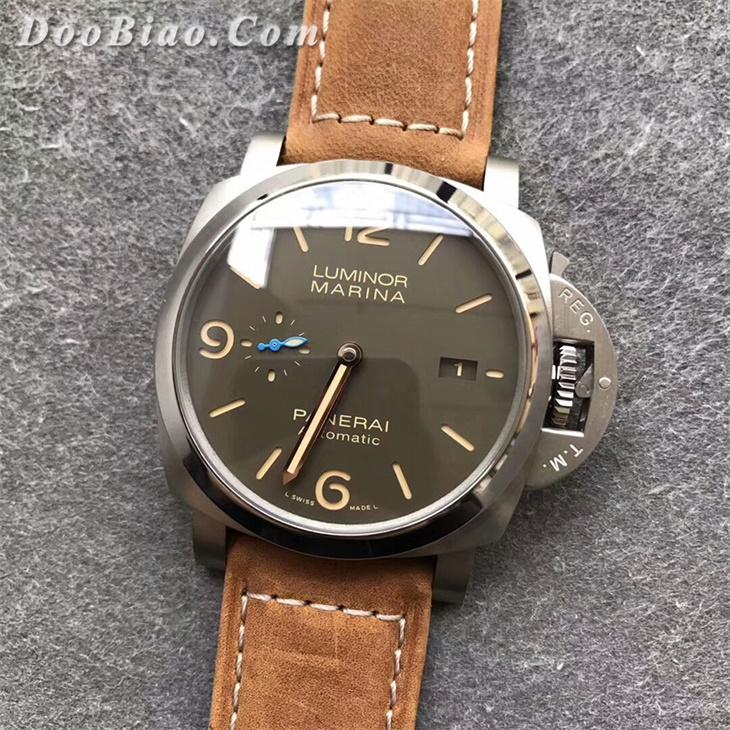 【ZF厂】沛纳海Luminor 1950系列PAM1351钛壳男士自动机械一比一复刻手表