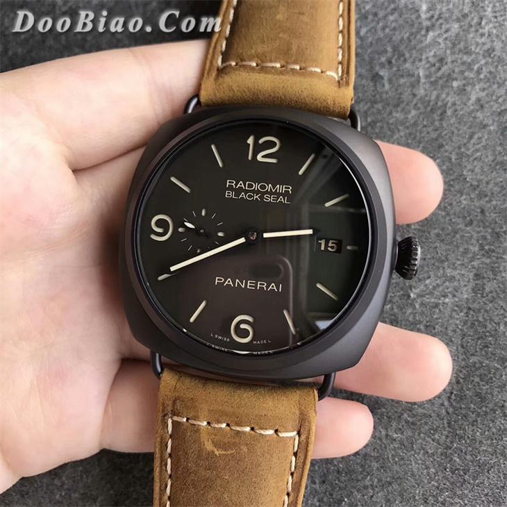 【VS厂超A】沛纳海(Panerai)PAM505/PAM505钛壳一比一复刻手表