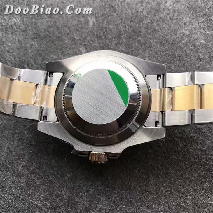 【N厂超A】N厂V7版包金版劳力士间金黑水鬼男士一比一复刻手表
