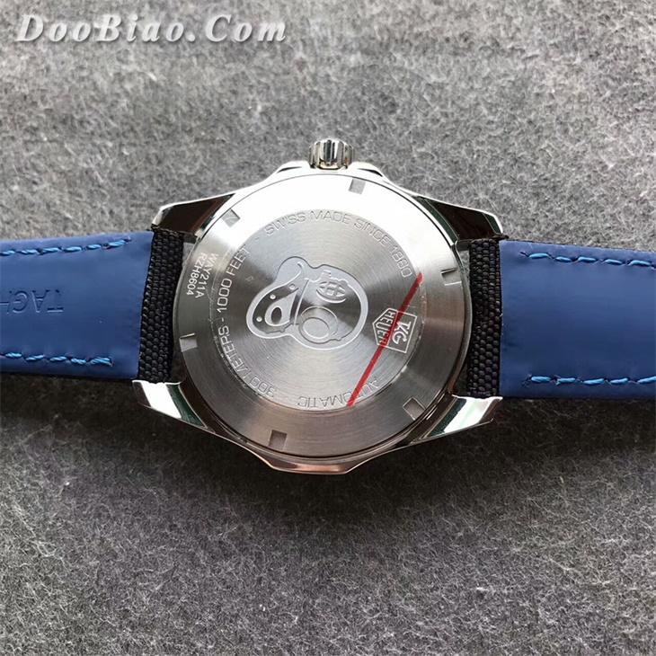 【V6厂超A】泰格豪雅(TAG Heuer)300M骚蓝圈一比一复刻手表