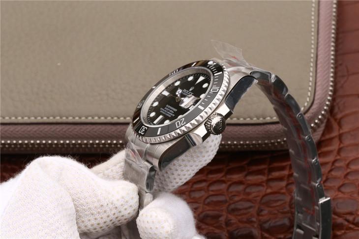 【N厂V7版】劳力士(Rolex)黑水鬼潜航者型116610LN男士一比一精仿手表