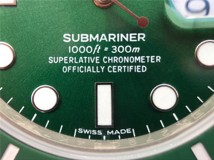 【N厂V8S】劳力士潜航者系列116610LV绿水鬼