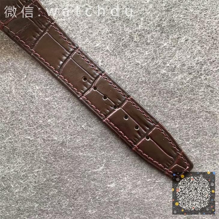 【8F厂】江诗丹顿VC纵横四海计时系列钢带金壳白面皮带版一比一精仿手表