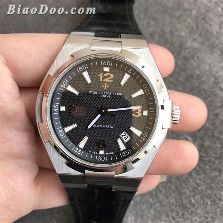 【8F厂】江诗丹顿VC纵横四海系列黑面皮带一比一精仿手表