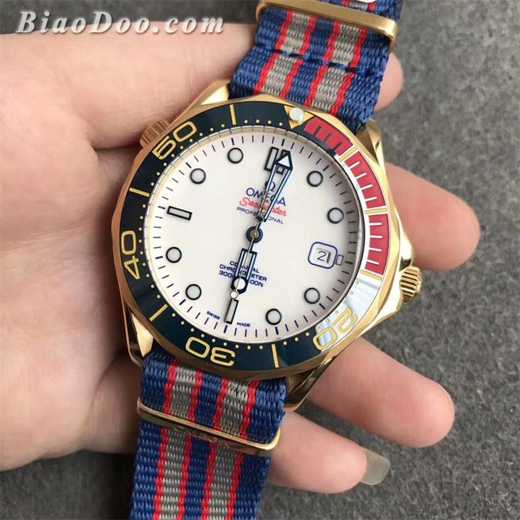 【UR厂】欧米茄海马300M系列007詹姆士邦德指挥官限量款金壳复刻手表