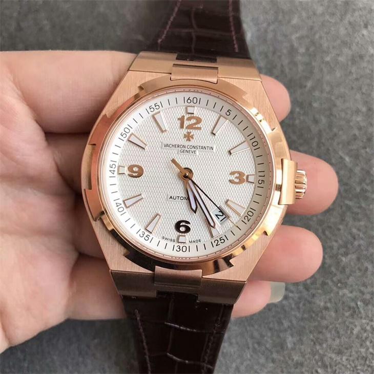 【8F厂】江诗丹顿VC纵横四海系列白面金壳一比一精仿手表
