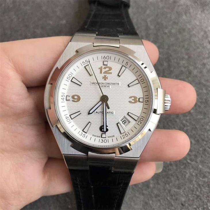 【8F厂】江诗丹顿VC纵横四海系列白面皮带一比一精仿手表