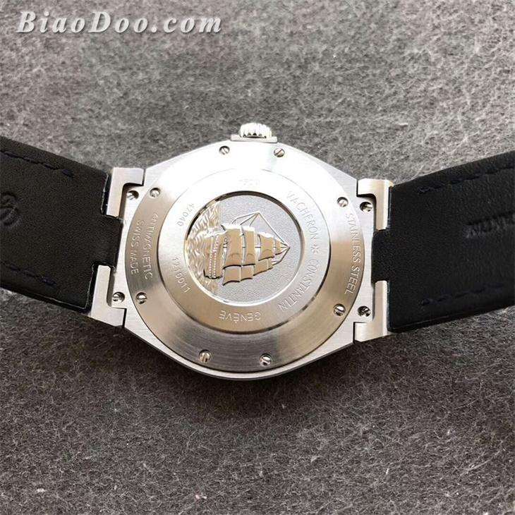 【8F厂】江诗丹顿VC纵横四海系列蓝面皮带一比一精仿手表